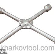 Ключ баллонный крестовой усиленный 350 мм MASTERTOOL 73-0313 фото