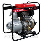 Дизельная мотопомпа Kama KDP40X фото