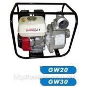Бензиновая мотопомпа GW30 фото