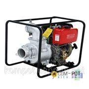 Мотопомпа Rotex RXCGZ100-3 для загрязненной воды фото