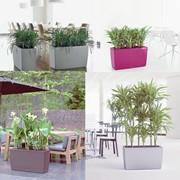 Кашпо для цветов с автополивом LECHUZA CARARO фото