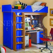 Мебель детская синяя фото