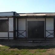 Дома каркасные деревянные из ОСП, OSB фото