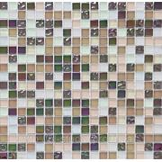 Мозайка мрамор-стекло HCB 01 1,5х1,5 см фото