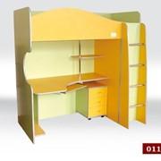 Ліжечко-стіл (дитяче 2х рівневе_ фото