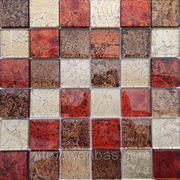 Мозаика Декор MIX RED 5 см фото