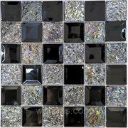 """Мозаика """"Декор"""" MIX SILVER фото"""