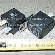 Реле 981.3777 24В 10/20А с кронштейном 5 контакта фото