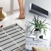 Создание систем климат-контроля (котлы, теплые полы, кондиционеры, радиаторы) фото