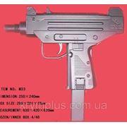 Пистолет черный M33 пульки в пакете 30*20см (шт) фото