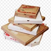 Изготовление коробок для пиццы фото