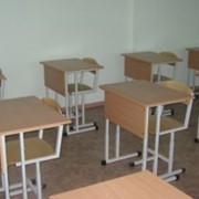Стол ученический одноместный фото