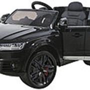 Детский электромобиль Audi Q7 LUXURY 2.4G - Black - HL159-LUX-B фото