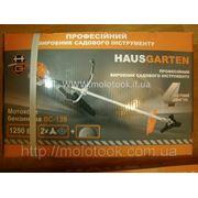 Бензиновый тример Hausgarten , BC-139 1,85 кВт +окуляри, рукавиці, 2насадки-ліски, 2насадки 3Т 4-х тактн. фото