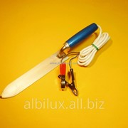 Нож электрический, с питанием от сети 12В. фото