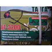 Мотокоса триммер Газонокосилка Тайга БГ-3200 фото