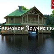 """Отель на воде """"Lake-house"""" из архангельской сосны фото"""