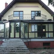 Зимний сад, веранда (проектирование, изготовление, монтаж), частный дом, коттедж, усадьба, дача, загородный дом фото