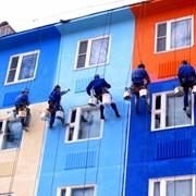 Покраска зданий фото