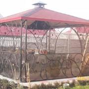 Ворота, двери, заборы, калитки, оградки и др. фото