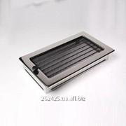 Решетка сталь полированная 17x30 с жалюзи фото