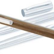 Промо-ручка в металлическом корпусе с лазерной гравировкой логотипа фото