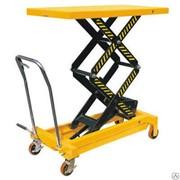 Столы подъемные 1500 кг, высота подъема 580 мм. фото