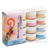 """Hand&Nail Harmony Melody Collection Color Powder Kit - коллекция """"Мелодия"""" (нежные пастельные оттенки цветных пудр) фото"""