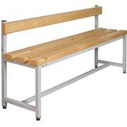 Скамейка со спинкой СК-1С-1500 фото