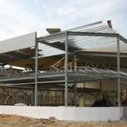 Проект здания из легких металлоконструкций фото