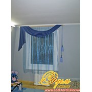 Текстильный дизайн штор фото