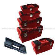 Ящик для инструментов металлический замок в наборе (4 шт) BX-0004 фото