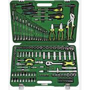 Набор профессиональных инструментов - 132 предметов фото