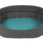 Лежак для животных с бортиком овальный Relax, серый DUVO+ фото