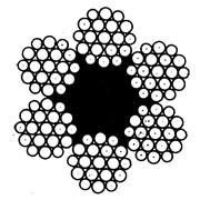 Канат двойной свивки типа лк-р (ГОСТ 2688-80) фото