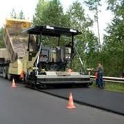 Работы по строительству и ремонту дорог. фото