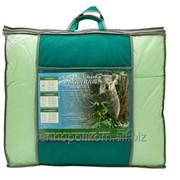 Одеяло 2,0 сп. в чемодане, цветной вкладыш Эвкалиптовое волокно (Lyocell) (300г/м2) 172х205 Тик/сатин (100% хлопок) фото