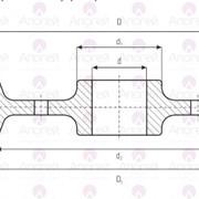Колесо крановое двухребордное ходовое К2Р 800х150 фото