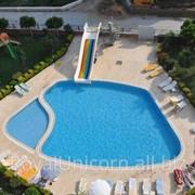 Элегантная летняя квартира в Алании/Махмутлар 2 + 1 с бассейном, 110 кв.м. фото