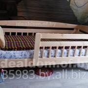 Кровать односпальная c бортиком Малыш-2 фото