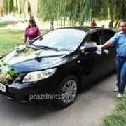 Авто на свадьбу Toyota Corolla фото