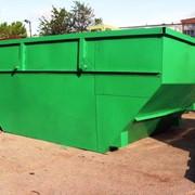 Бункер-накопитель для ТБО объём 8м3 фото