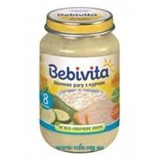 Пюре Bebivita 190г Овощное рагу с цыпленком фото