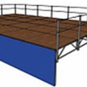 Подиум сборно-разборный 7х5 метров фото