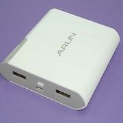 Универсальный внешний аккумулятор Powerbank ARUN Y-40 10400mAh 5V 2.1A фото
