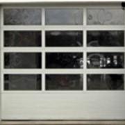 Ворота автоматические секционные фото