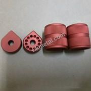 Красное Анодирование алюминия  фото