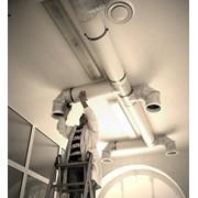 Монтаж и наладка систем дымоудаления фото