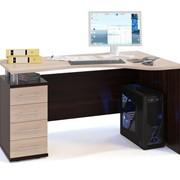 Угловой письменный стол Стрейт-1 фото
