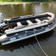 Лодки надувные. Наличие надувного фальшборта на надувных балонах лодки. фото